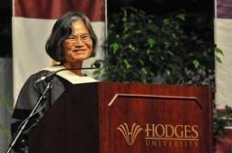 Hodges graduation leadership