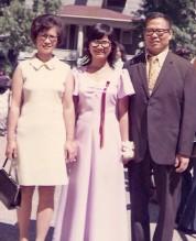 Chicago Goudy graduation 1973