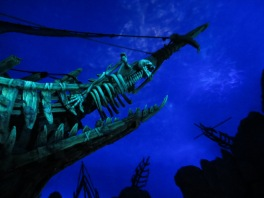Shanghai Disney Pirates of Caribbean ride