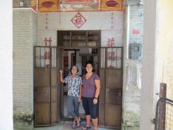 The house in Taishan where my mother grew up, built by my great-grandfather around 1935