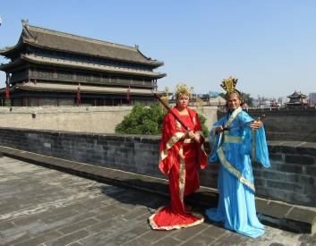 Xian ancient wall warriors best 2016-07-15 127