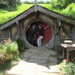 Visitors' hobbit hole, Hobbiton