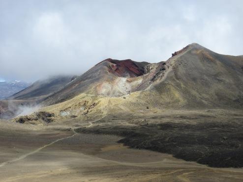 Tongariro alpine hike Red Crater