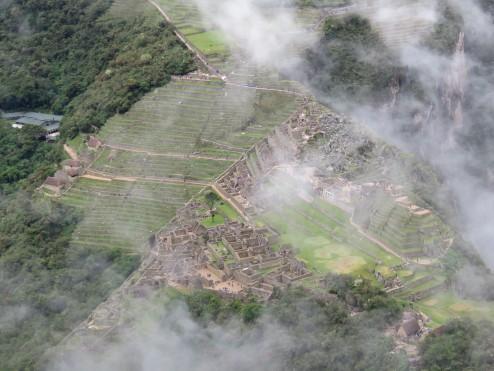 Machu Picchu from the summit of Huayna Picchu