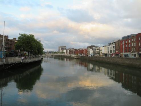 Dublin's Liffey River