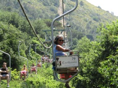 Chairlift at Anacapri up to Mt. Solaro
