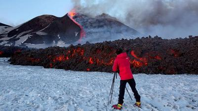 Etna Feb. 2017! Taken by tour guide Tony from Etna Finder.