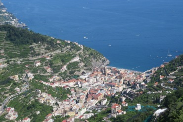Minori view from Ravello