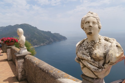 Villa Cimbrone's Infinity terrace at Ravello