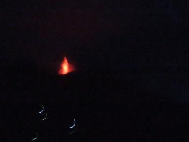 Stromboli lava