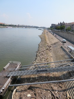 Low Danube in Budapest, Hungary