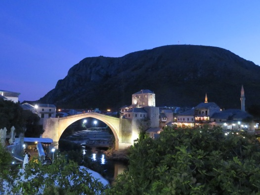 2018 Mostar, Bosnia-Herzegovina famed bridge IMG_8363