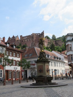 Delightful Heidelberg Germany with its terrific castle