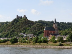 Lovely 40-miles along the Middle Rhine Valley