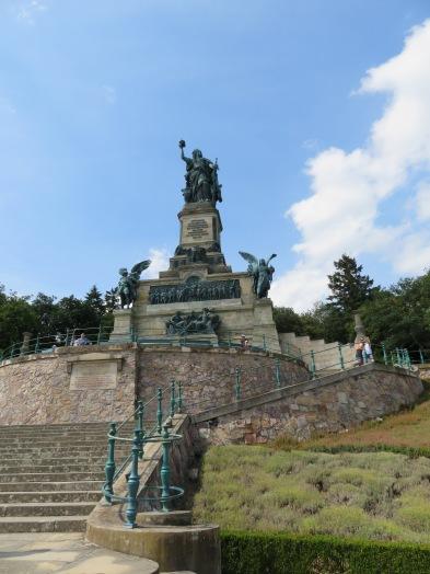 Niederwalk war monument at Rudesheim