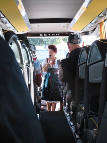 Bus ride to Wertheim