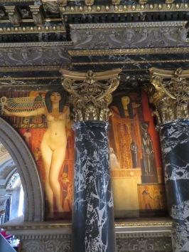 Klimt made his mark at the Fine Arts Museum in Vienna, Austria