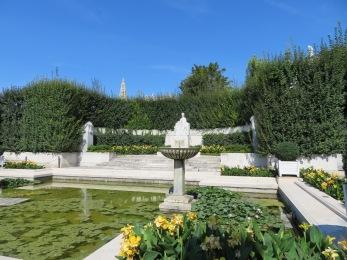 The people's garden in Vienna, Austria