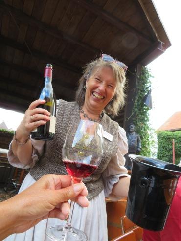 Fun wine tasting event in Wertheim