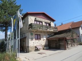 "This home, now a museum, was the end of the lifesaving ""tunnel of hope"" built during the Sarajevo siege."