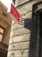 2018 Sarajevo Hotel VIP bullet-marked sign IMG_8598