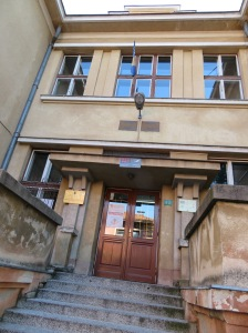 2018 Sarajevo Logavina Street Razija Omanovic elementary school with basement used as bomb shelter IMG_8655