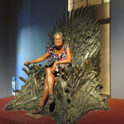 THE iron throne, on Lokrum island off Dubrovnik, Croatia
