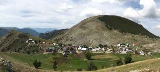 The rugged remote village of Lukomir, Bosnia-Herzegovina
