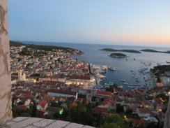 Hvar, Croatia from the fortress