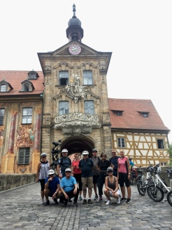 Uniworld bike tour in Bamberg, Germany