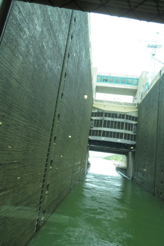 One of the 16 locks along the famed Main/Danube canal