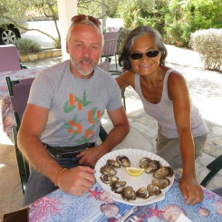 Ston, Croatia: fresh salt-water oysters with guide Camil Sahovic