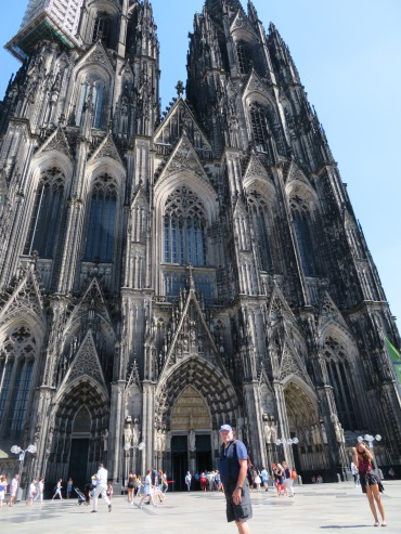 The Cologne Cathedral is the fourth tallest in the world.