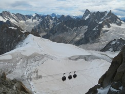 Aiguille du Midi views, Chamonix, France