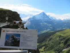Grindelwald-First views of Eiger, Switzerland