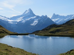 Bachalpsee at First to Schynige Platte, Switzerland