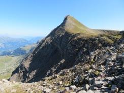 Faulhorn peak from First to Schynige Platte, Switzerland