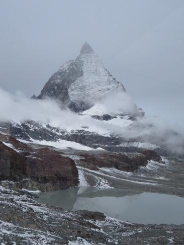 Matterhorn from Kleine Matterhorn cable, Zermatt